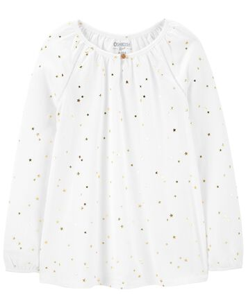 Starry Jersey Top