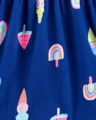 Robe débardeur en jersey à cornets de crème glacée, , hi-res