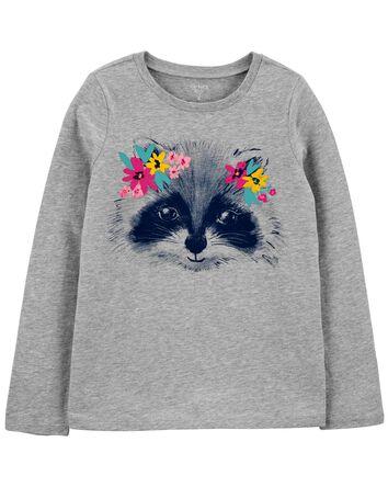 T-shirt en jersey à raton laveur