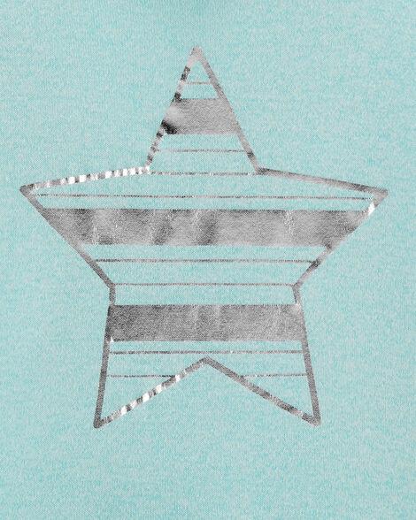Tunique à capuchon avec étoiles