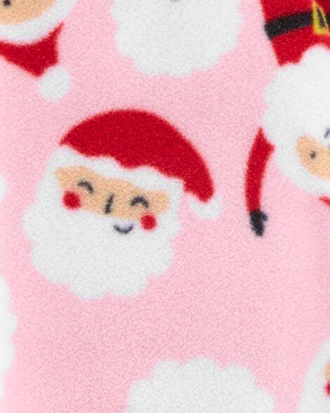 Santa Zip-Up Fleece Sleep & Play