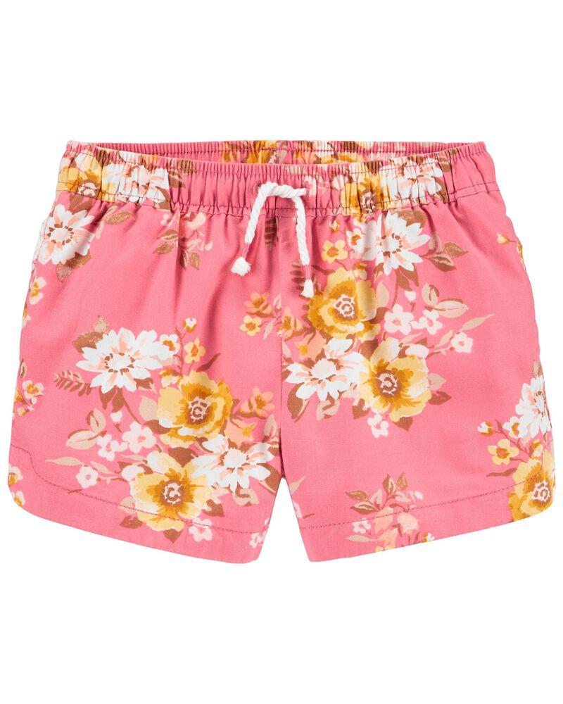 Floral Sun Shorts, , hi-res