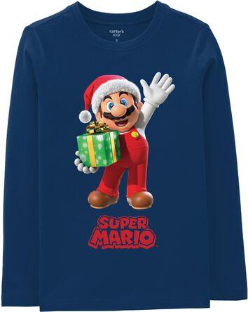 Super Mario Bros Holiday Tee