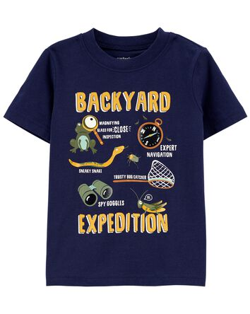 T-shirt en jersey Backyard