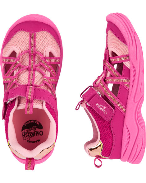Sandales à bout muflé