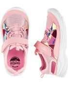 Holographic Bump Toe Athletic Sneakers, , hi-res