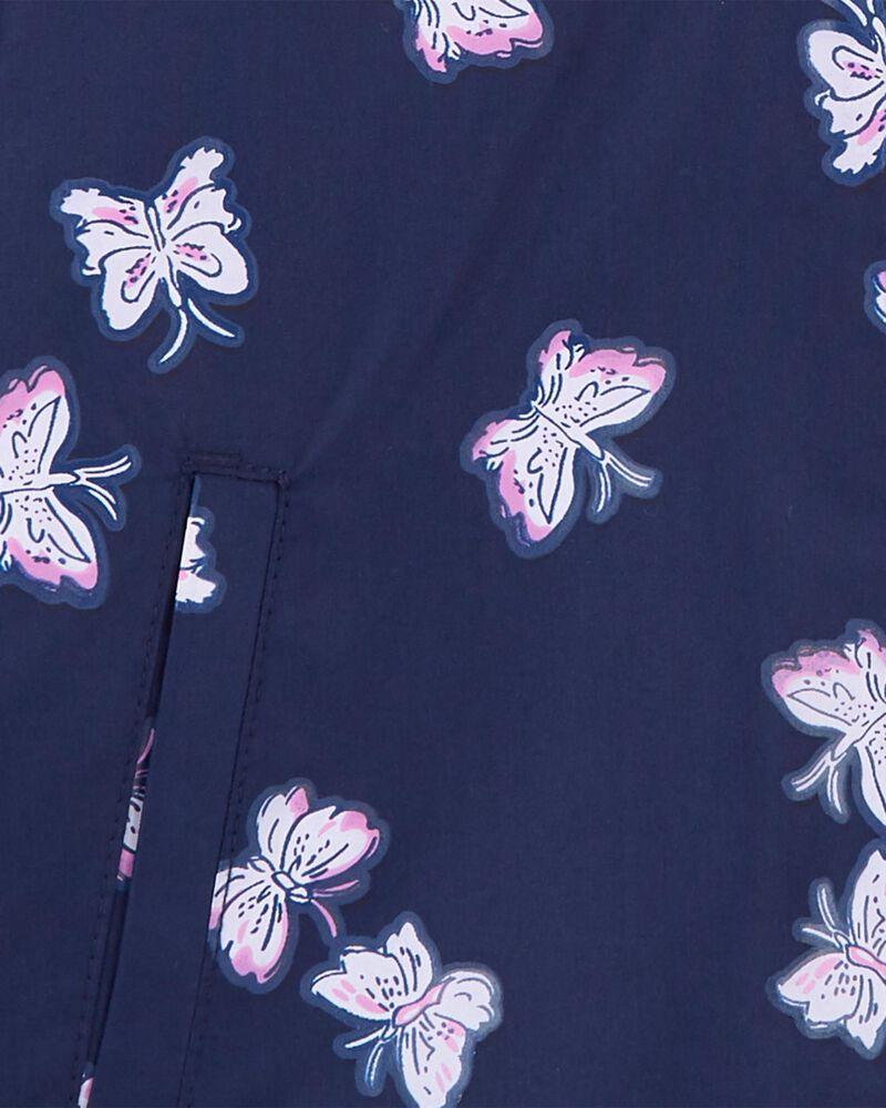 Imperméable doublé de molleton à papillons qui changent de couleur, , hi-res