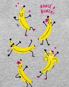 T-shirt en jersey avec bananes qui dancent, , hi-res