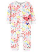 Butterfly Zip-Up Footless Sleep & Play, , hi-res