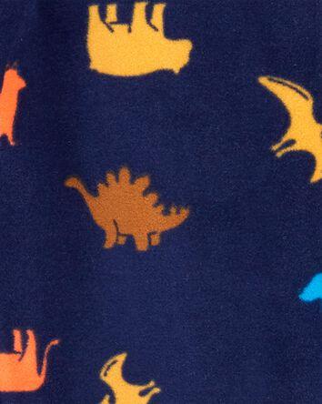 Pyjama 1 pièce en molleton avec pie...