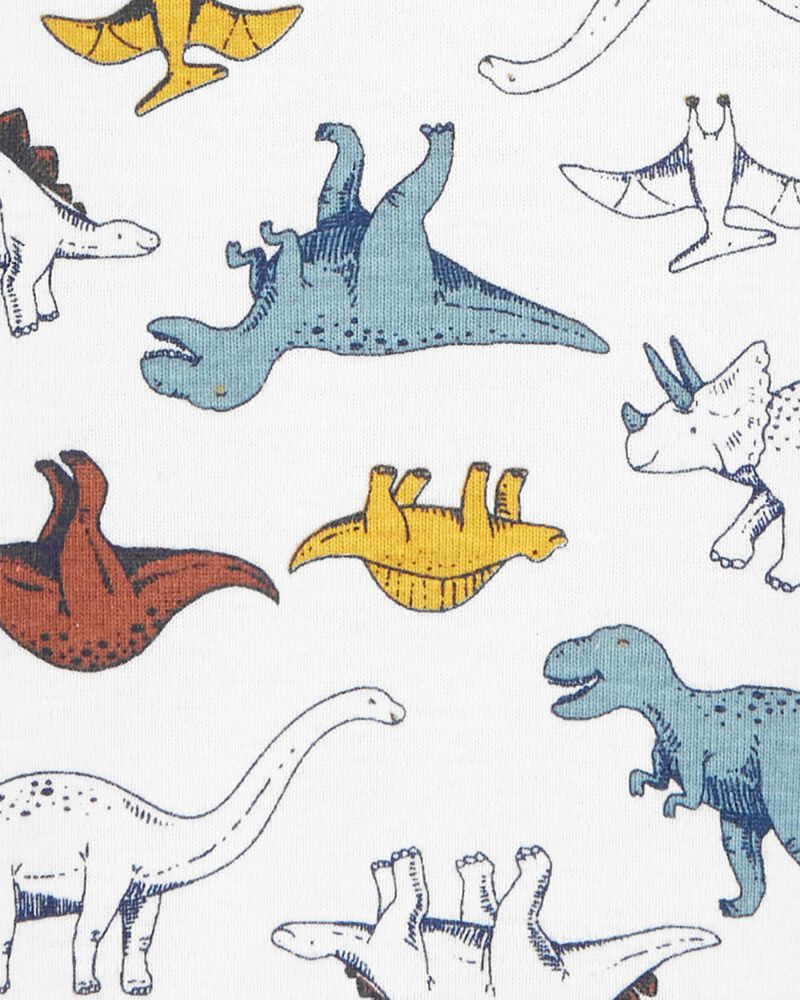 Dinosaur Henley Bodysuit, , hi-res