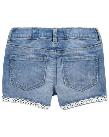 Stretch Denim Shorts in Nineties Wa...