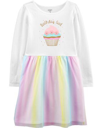 Robe à tutu Birthday Girl