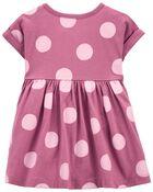 2-Piece Polka Dot Dress & Legging Set, , hi-res