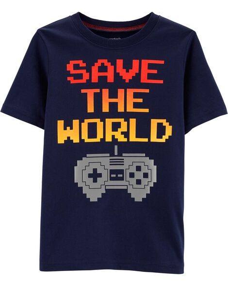 Video Game Jersey Tee