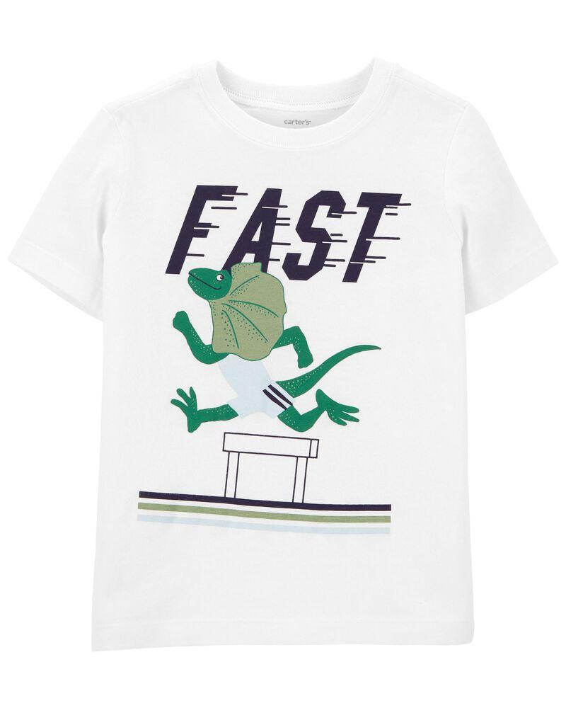T-shirt en jersey piste de course, , hi-res