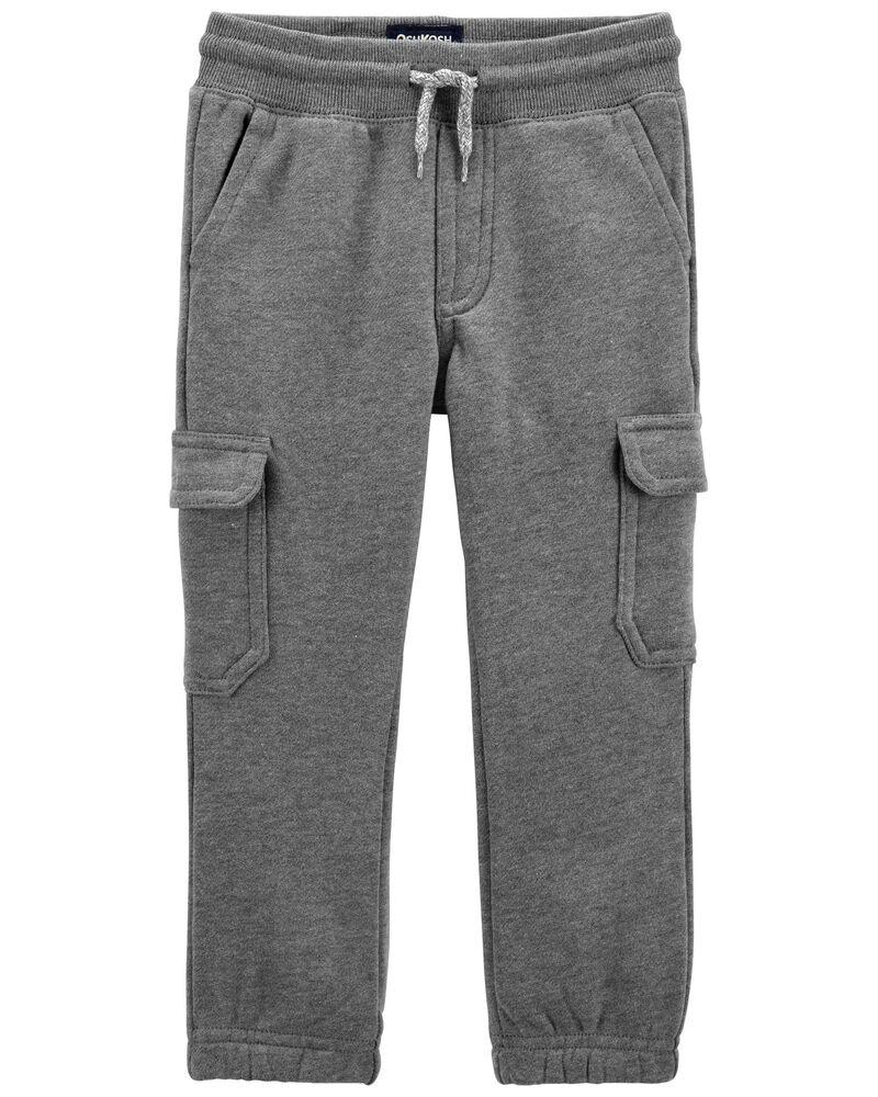 Pantalon de jogging en molleton camouflage, , hi-res