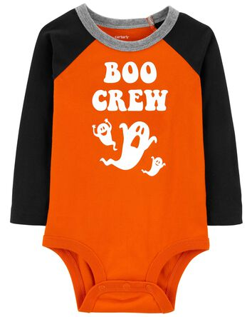 Boo Crew Jersey Bodysuit