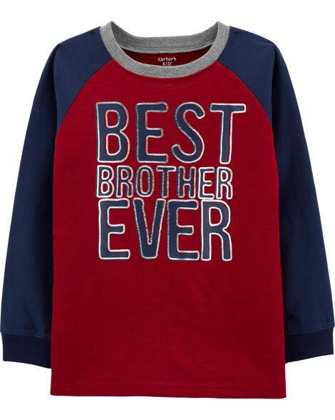 Best Brother Slub Jersey Tee