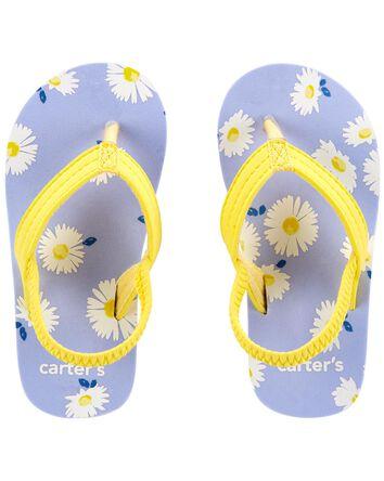 Sandales de plage à marguerites