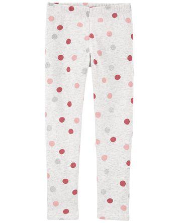 Polka Dot Cozy Leggings