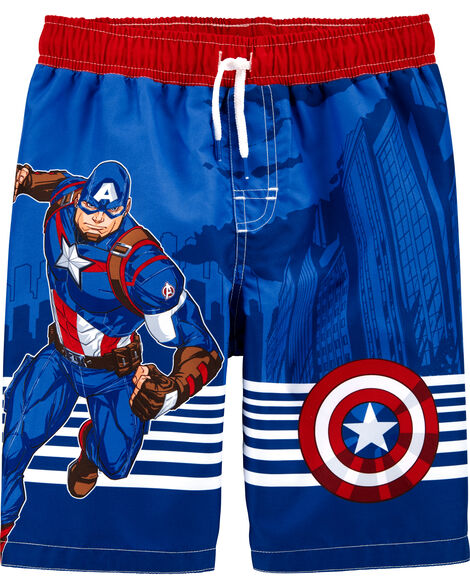 Maillot de bain Captain America