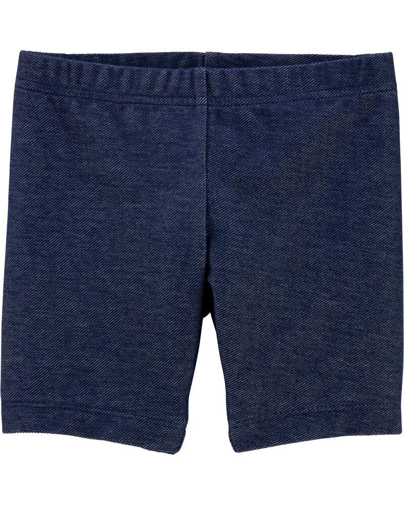 Knit Denim Playground Shorts, , hi-res