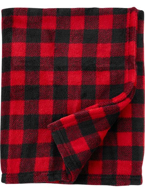 Buffalo Check Fuzzy Blanket