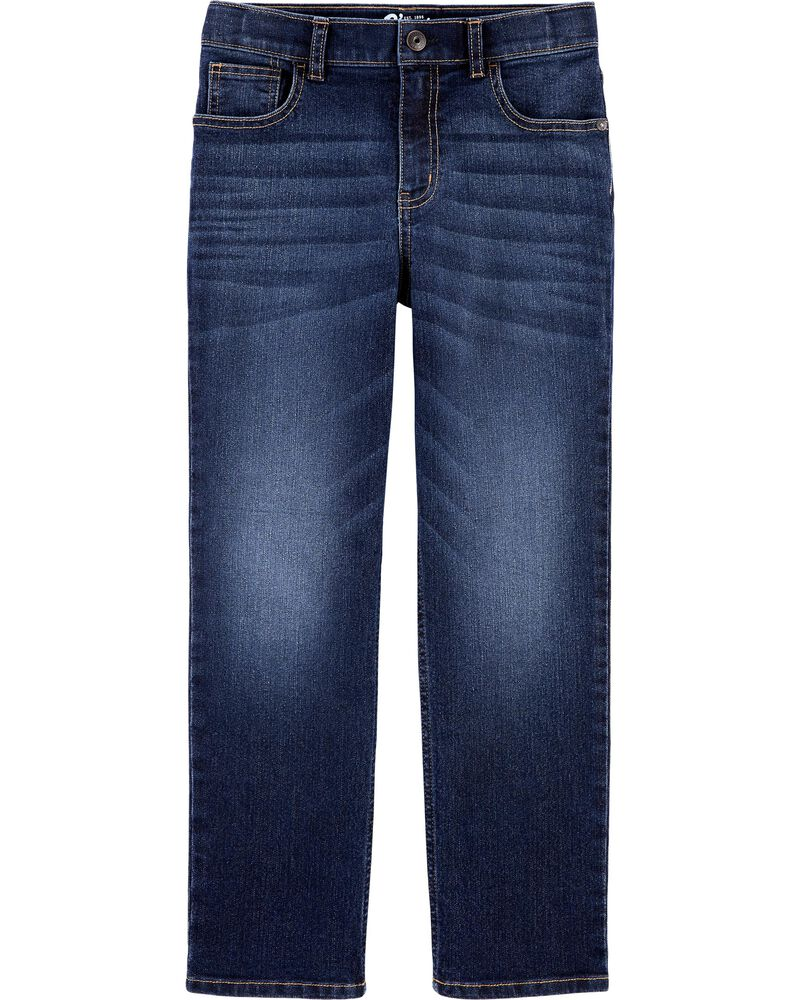 Classic Jeans - Rail Tie True Blue Wash, , hi-res
