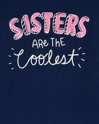 Sisters Are The Coolest Jersey Tee, , hi-res