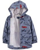 Travel Print Rain Jacket, , hi-res