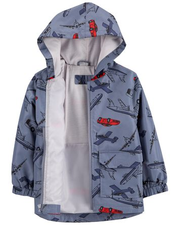 Travel Print Rain Jacket