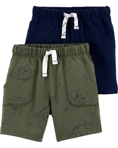 2-Pack French Terry Shorts