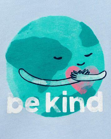 T-shirt en jersey Earth Be Kind