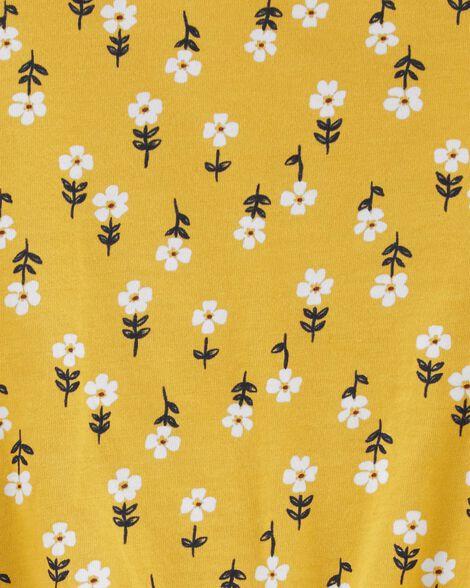 Floral Tie-Front Top