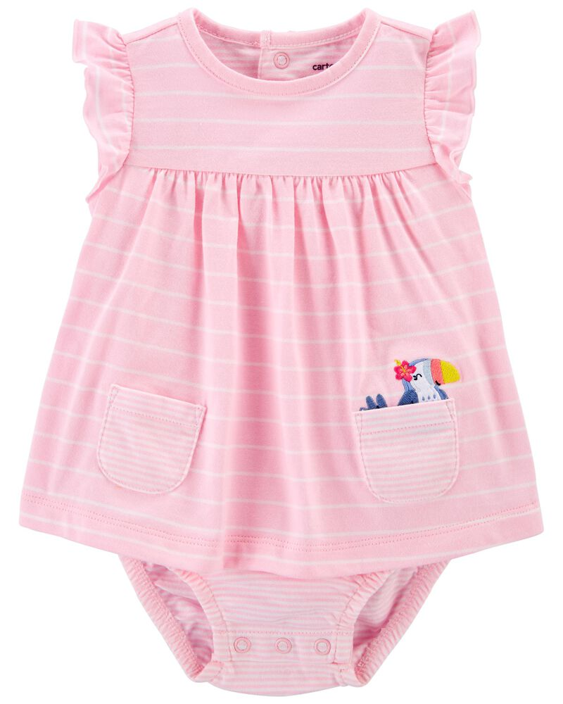 Striped Sunsuit, , hi-res