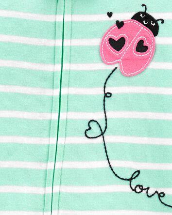 1-Piece Ladybug 100% Snug Fit Cotto...