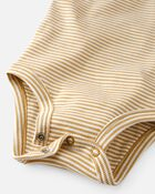 2-Pack Organic Cotton Bee Kind Bodysuits, , hi-res