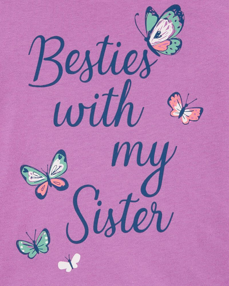Sister Butterfly Jersey Tee, , hi-res