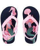 Sandales de plage à motif sirène, , hi-res