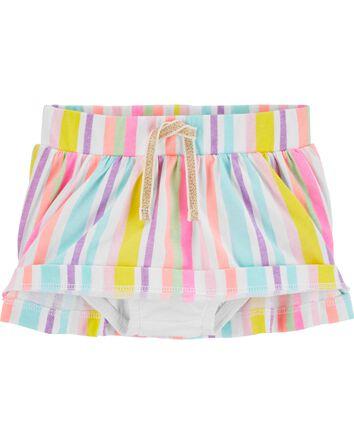 Rainbow Stripe Scooter Skirt