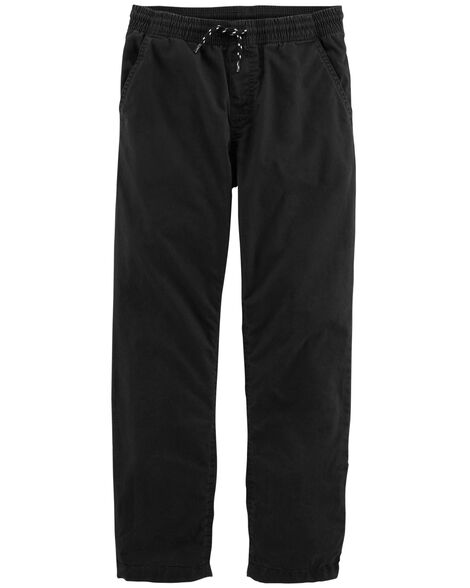Jersey Lined Poplin Pants Carter S Oshkosh Canada