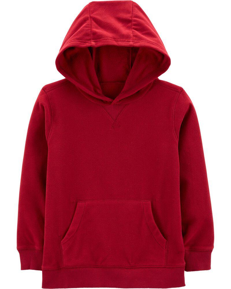 Fleece Pullover Hoodie, , hi-res