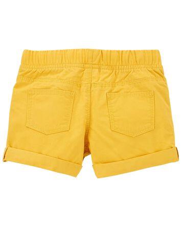 Short à enfiler en coton