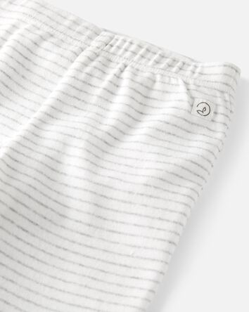 2-Pack Organic Cotton Rib Footed Pa...