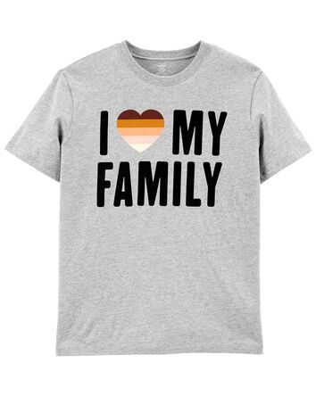 T-shirt unisexe pour adulte I Love...