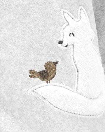 Fox Snap-Up Fleece Sleep & Play