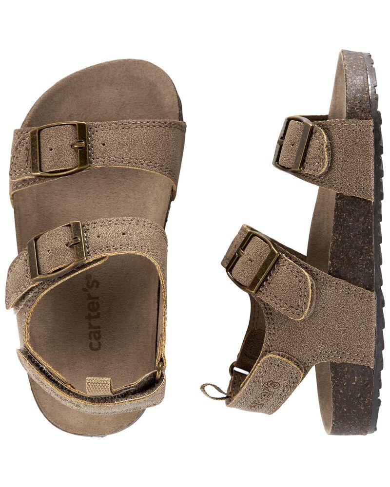 Sandales en liège, , hi-res