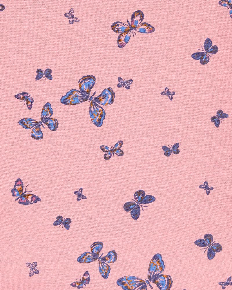 Butterfly Tie-Sleeve Top, , hi-res