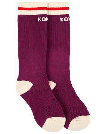 Chaussettes motif camping Kombi